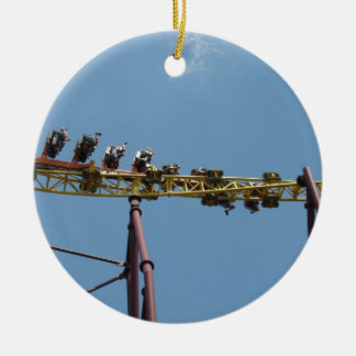 Volcano Roller Coaster at Kings Dominion Christmas Ornament