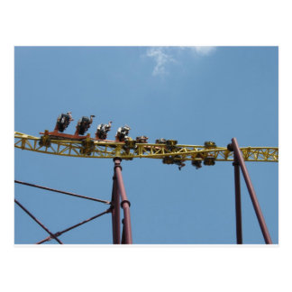 Volcano Roller Coaster at Kings Dominion Post Card