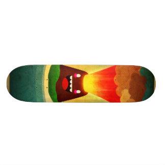 Volcano Skateboard Deck