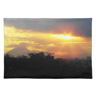 Volcano Sunset Placemats