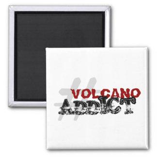 #VolcanoAddict Magnets