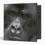 Volcanoes NP, Rwanda, Mountain Gorillas, Vinyl Binder