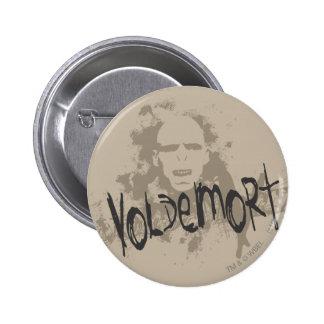 Voldemort Dark Arts Graphic Pinback Button