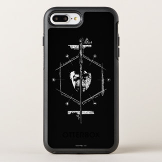 Voldemort Harry Potter Face Off Graphic OtterBox Symmetry iPhone 7 Plus Case