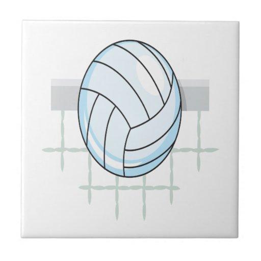 Voleibol 11 azulejo cuadrado pequeño