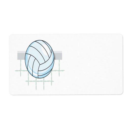 Voleibol 11 etiqueta de envío