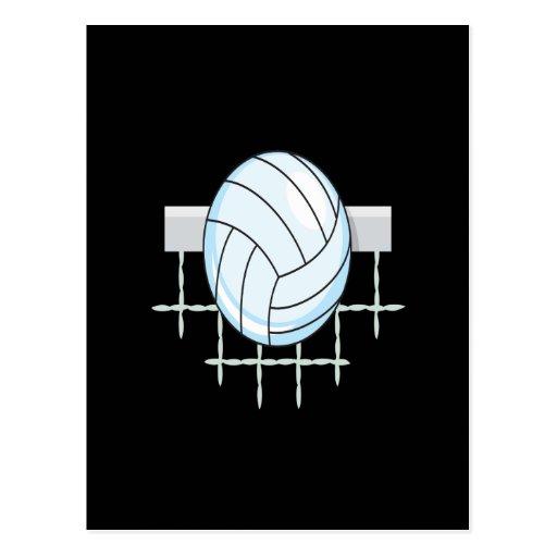Voleibol 11 tarjeta postal