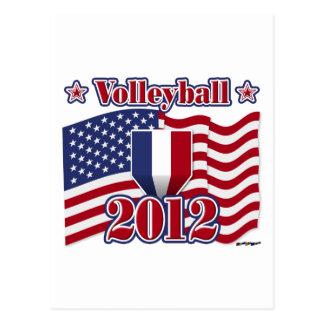 Voleibol 2012 tarjeta postal