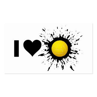 Voleibol 2 del amor del explosivo I Tarjetas De Visita