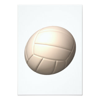 """Voleibol 2 invitación 5"""" x 7"""""""