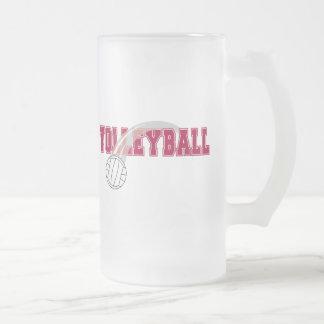 Voleibol 2 taza de cristal