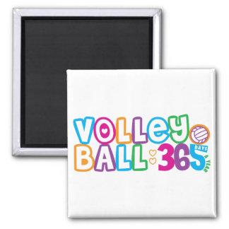 Voleibol 365 imán de nevera