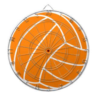 Voleibol anaranjado y blanco