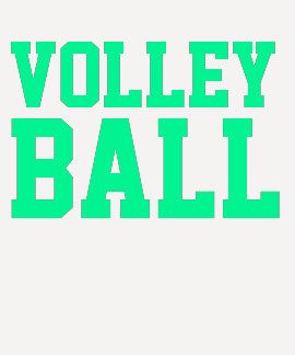 Voleibol apilado remera