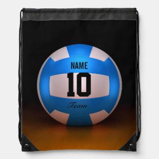 Voleibol azul mochilas