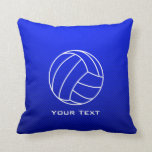 Voleibol azul profundo almohada