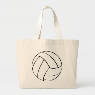 Voleibol Bolsa De Tela Grande