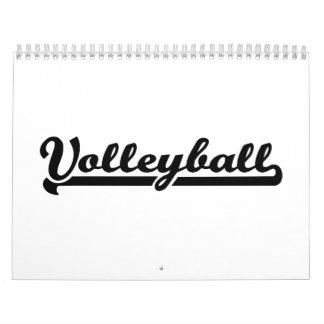 Voleibol Calendario