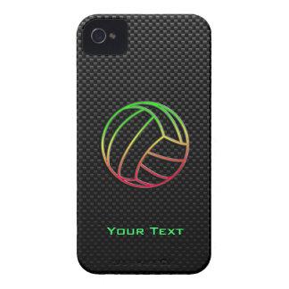 Voleibol colorido iPhone 4 carcasa