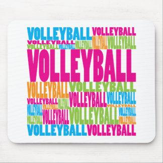 Voleibol colorido tapetes de ratones