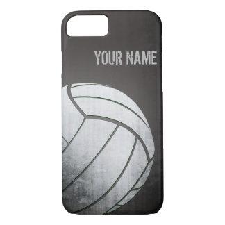 voleibol con la sombra del negro del efecto del funda iPhone 7
