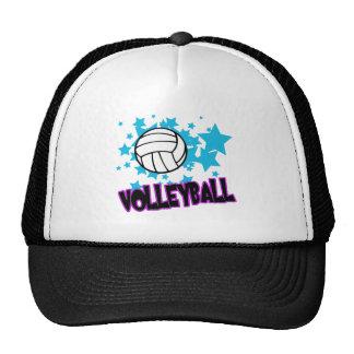 Voleibol con las estrellas gorros