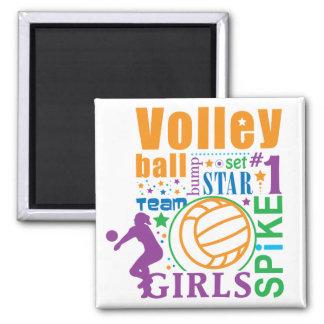 Voleibol de Bourne Imán Cuadrado