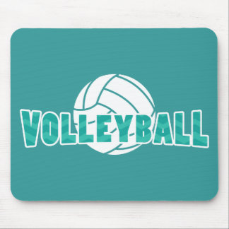Voleibol de Chevron Alfombrilla De Raton