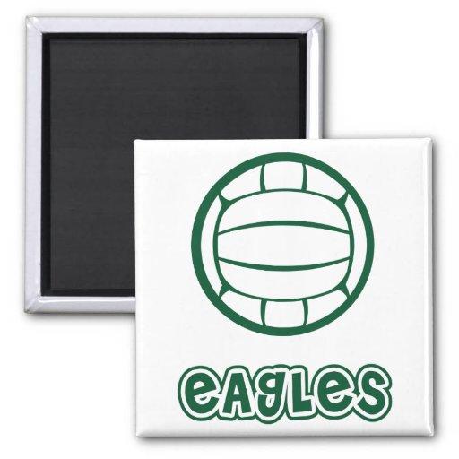 Voleibol de Eagles Imán Cuadrado