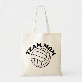 Voleibol de la mamá del equipo bolsas
