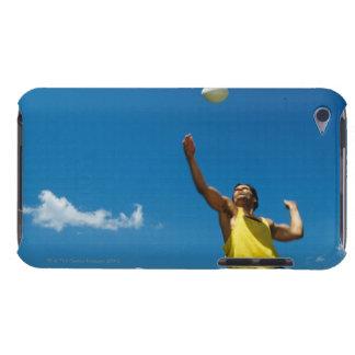 Voleibol de la porción del hombre barely there iPod fundas