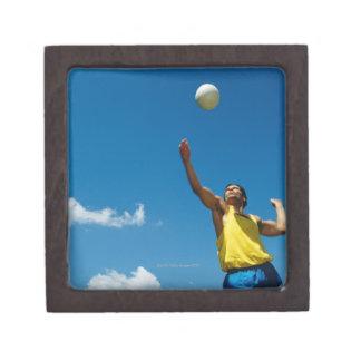 Voleibol de la porción del hombre cajas de recuerdo de calidad