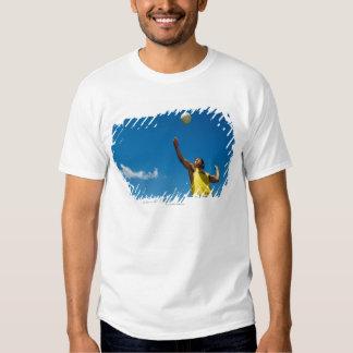 Voleibol de la porción del hombre camisas