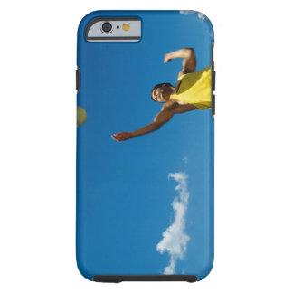 Voleibol de la porción del hombre funda para iPhone 6 tough