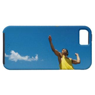 Voleibol de la porción del hombre iPhone 5 carcasa