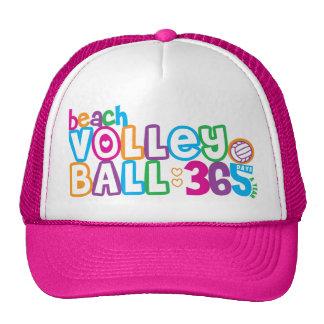 Voleibol de playa 365 gorros bordados