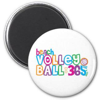 Voleibol de playa 365 iman de frigorífico