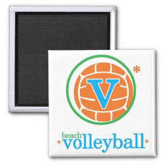 Voleibol de playa de Nika Imán Para Frigorífico