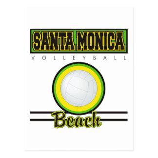 Voleibol de playa de Santa Mónica Postales