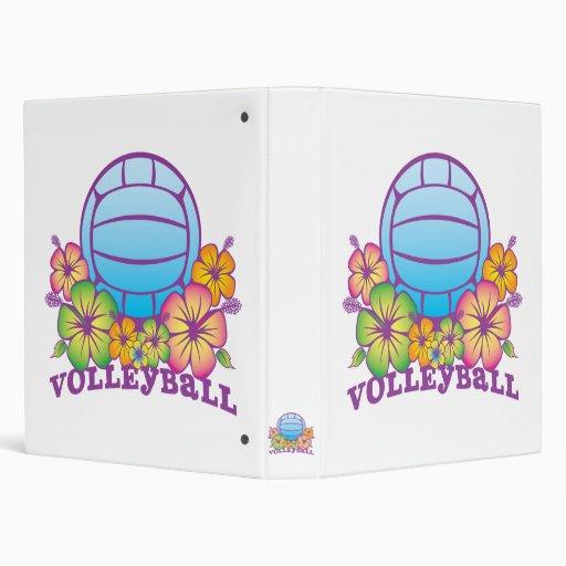 Voleibol de playa del flor