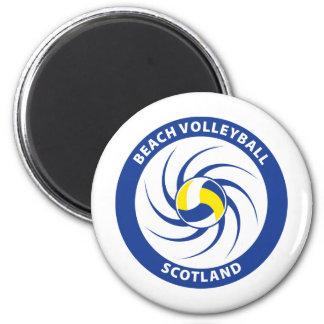 Voleibol de playa Escocia Imán Redondo 5 Cm