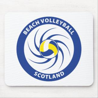 Voleibol de playa Escocia Alfombrillas De Ratón