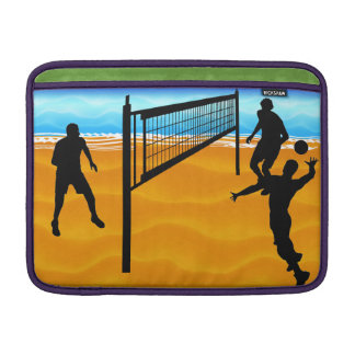Voleibol de playa fundas MacBook