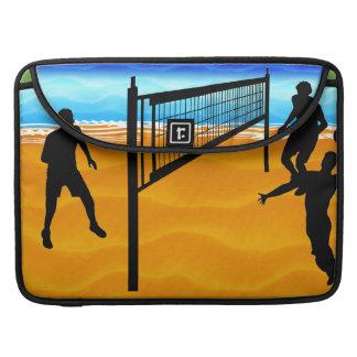 Voleibol de playa funda macbook pro
