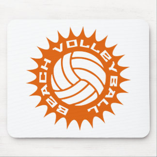 Voleibol de playa tapetes de ratón