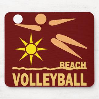 Voleibol de playa alfombrillas de ratón