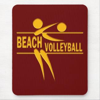 Voleibol de playa alfombrillas de ratones