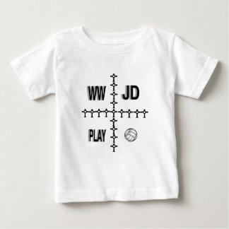 Voleibol de WWJD Tee Shirt