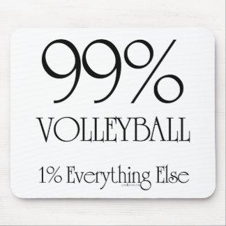 Voleibol del 99% tapetes de ratón