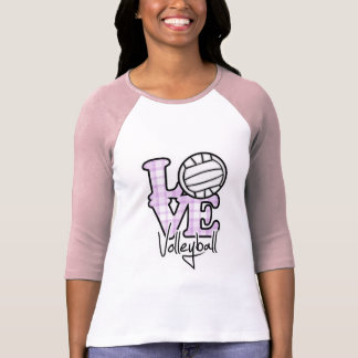 Voleibol del amor camisas